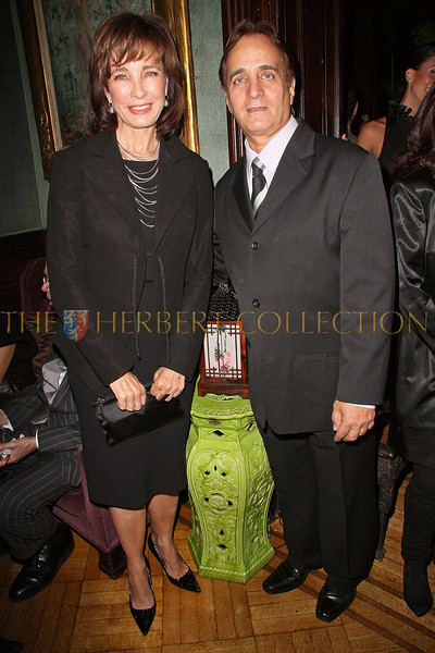 NEW YORK - OCTOBER 02:  Actress Anne Archer and Worldwide Children's Foundation President James Cavallo attend the Worldwide Children's Foundation Fundraising Gala at The National Arts Club in New York City.  (Photo by Steve Mack/S.D. Mack Pictures) *** Local Caption *** Anne Archer; James Cavallo