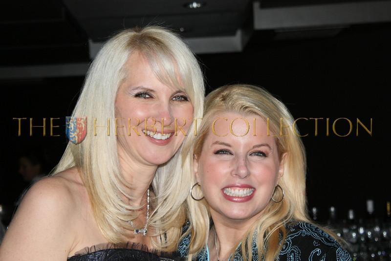 Sara Herbert-Galloway and Rita Cosby