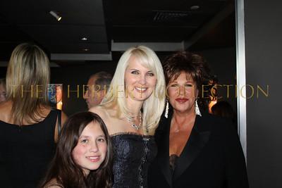 Alana Galloway, Sara Herbert-Galloway and Lainie Kazan