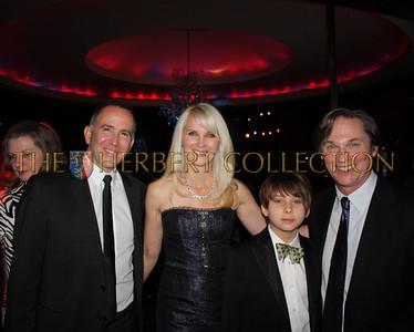 Danny Fontana, Sara Herbert-Galloway, Montana and his father Richard Thomas, Master of Ceremonies