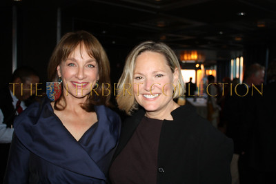 Nancy Snyderman Honoree and Chief Medical Correspondent, NBC News with Barbara Kelly, make up artist