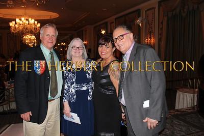 "Gary Swanson,  Painter Sam's mom Donna Lufkin, Artist Samantha Bennett ""Painter Sam"" Honoree and meningitis survivor, Errol Rappaport NMA supporter and Auction Chair  http://www.paintersam.com/about/"