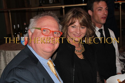 Gary Springer Co-Chair NMA gala and honoree, with Elizabeth Cier