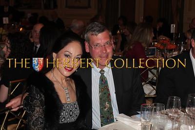 Lucia Hwong-Gordon and Jim Luce
