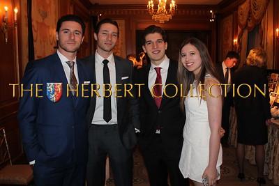 Matt Klarberg, Ryan Klarberg, Justin Galloway and Alana Galloway NMA Teen/Young Health Advocates
