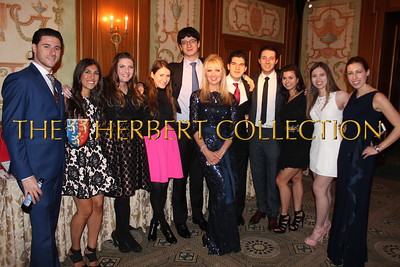 Matt and Allie Klarberg, Nikki Klarberg, Kate Horowitz, Jake Klarberg, front: Sara Herbert-Galloway, Justin Galloway, Ryan Klarberg, Adrienne Burfield, Alana Galloway, Ella Reider