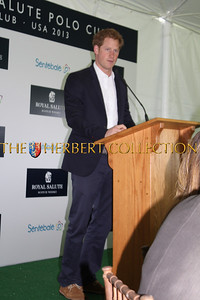 Prince Harry of Wales greets guests and speaks about the plight of the children in Sentebale. He is saving lives through his work with Sentebale.org