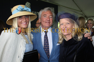 Merritt Piro with parents Phil and Marion Piro of Greenwich, CT  The Piro family are active supporters of Southampton Hospital in NY. Merritt is heading the Jr. Committee for this summer's annual event
