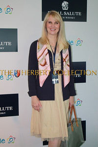 The author, Sara Herbert-Galloway, attending Sentebale Royal Salute Polo Cup at The Greenwich Polo Club