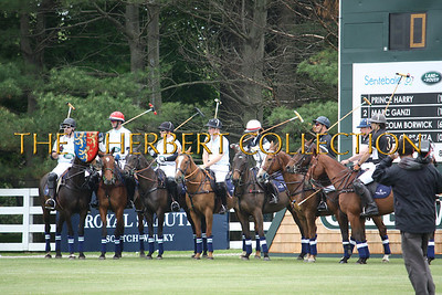 Prince Harry's Sentebale Land Rover Team: Michael Carrazza, Malcolm Borwick, Marc Ganzi and Prince Harry St. Regis Team: Dawn Jones, Steve Lefkowitz, Peter Orthwein and Nacho Figueras