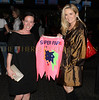 Kate Spade, sponsor and board member with MSNBC Anchor Alex Witt