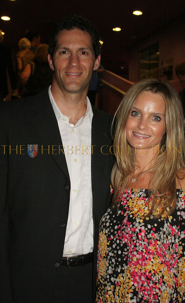Samuel R. Zussman, Senior Vice-President IMG and Managing Director, IMG Academies with wife Nichole Antonelli Zussman, actress