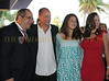 Mark P. Famiglio, Board president Sarasota Film Festival with Woody Harrelson, daughter Deni and Jennie Famiglio