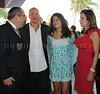 Mark P. Famiglio President, Board of Directors Sarasota Film Festival, Woody Harelson, Deni Harelson and Jennie Famiglio