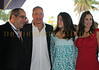 Mark P. Famiglio Board of Directors President Sarasota Film Festival, Woody Harrelson, Deni Harrelson and Jennie Famiglio