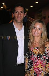 Samuel R. Sugarman, Senior Vice-President IMG and Managing Director IMG Academies with wife; actress Nichole Antonelli Zussman