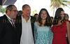 Mark Famiglio Board of Directors President Sarasota Film Festival, Woody Harrelson, daughter Deni, and Jennie Famiglio