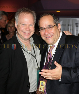 Gary Springer of Springer Associates PR and Mark Famiglio, President of The Sarasota Film Festival Board of Directors