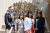Chris Kuehnle, Sharon Den, Norma Abbene Deputy Counsel to Mayor Michael R. Bloomberg and Carol Robles Roman