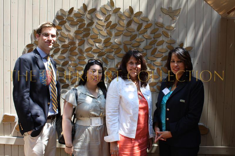 Chris Kuehnle, Sharon Den, Norma Abbene (Deputy Counsel to the Mayor) and Carol Robles Roman
