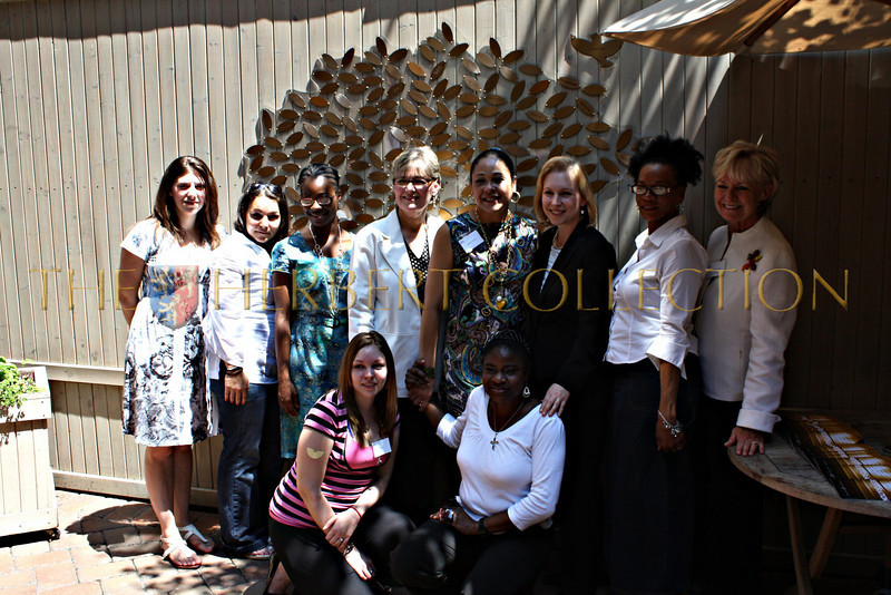 Residents of the Mission join Directyor Deborah Jones,Cynthia, NY Senator Kristin Gillibrand, and Veronica Kelly
