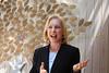 NY State Senator Kirsten Gillibrand speaks