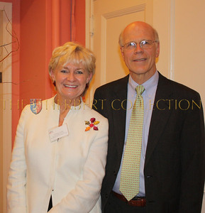 Veronica Kelly; Director of Special Events at The Bowery Mission's Women's Center and Edward H. Morgan President and CEO