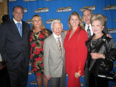 Stewart F. Lane, Kathy Curtiss, Mickey Freeman, Bonnie Comley, Honoree Dr. Stanley Cohen and guest
