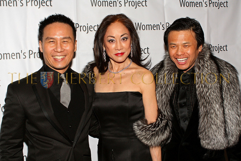 NEW YORK - MARCH 02:  Actor B.D. Wong, Composer/Instrumentalist Lucia Hwong Gordon and Designer Zang Toi attend the 24th annual Women's Project gala at the Pierre Hotel on March 2, 2009 in New York City.  (Photo by Steve Mack/S.D. Mack Pictures) *** Local Caption *** B.D. Wong; Lucia Hwong Gordon; Zang Toi