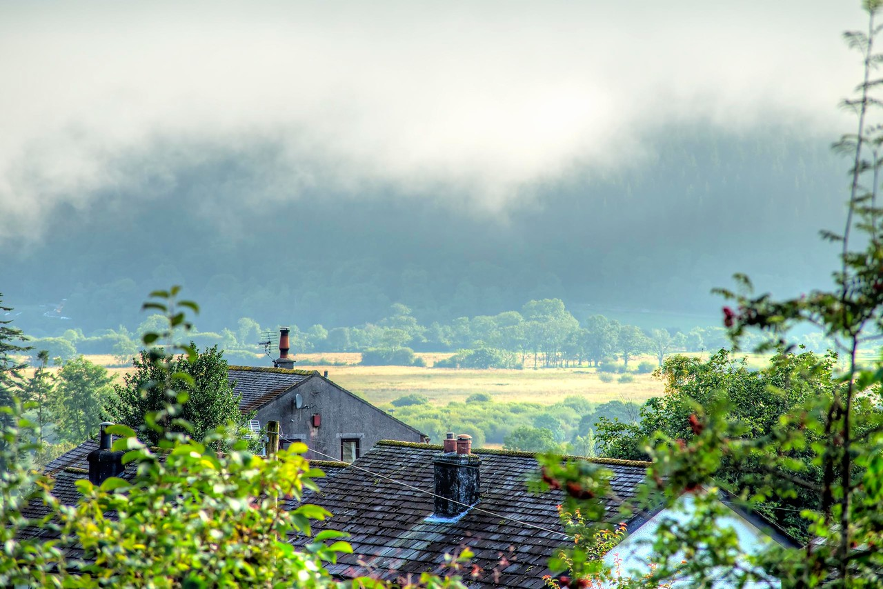 Fri 10th Aug : Thornthwaite : Morning Mist Across The Valley