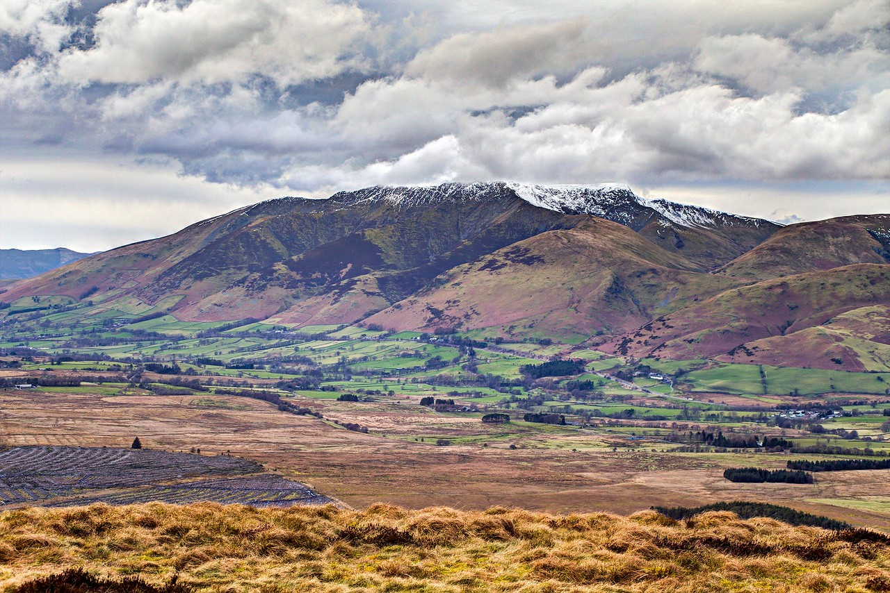 Tue 7th Mar : Great Mell Fell : View NW To Blencathra