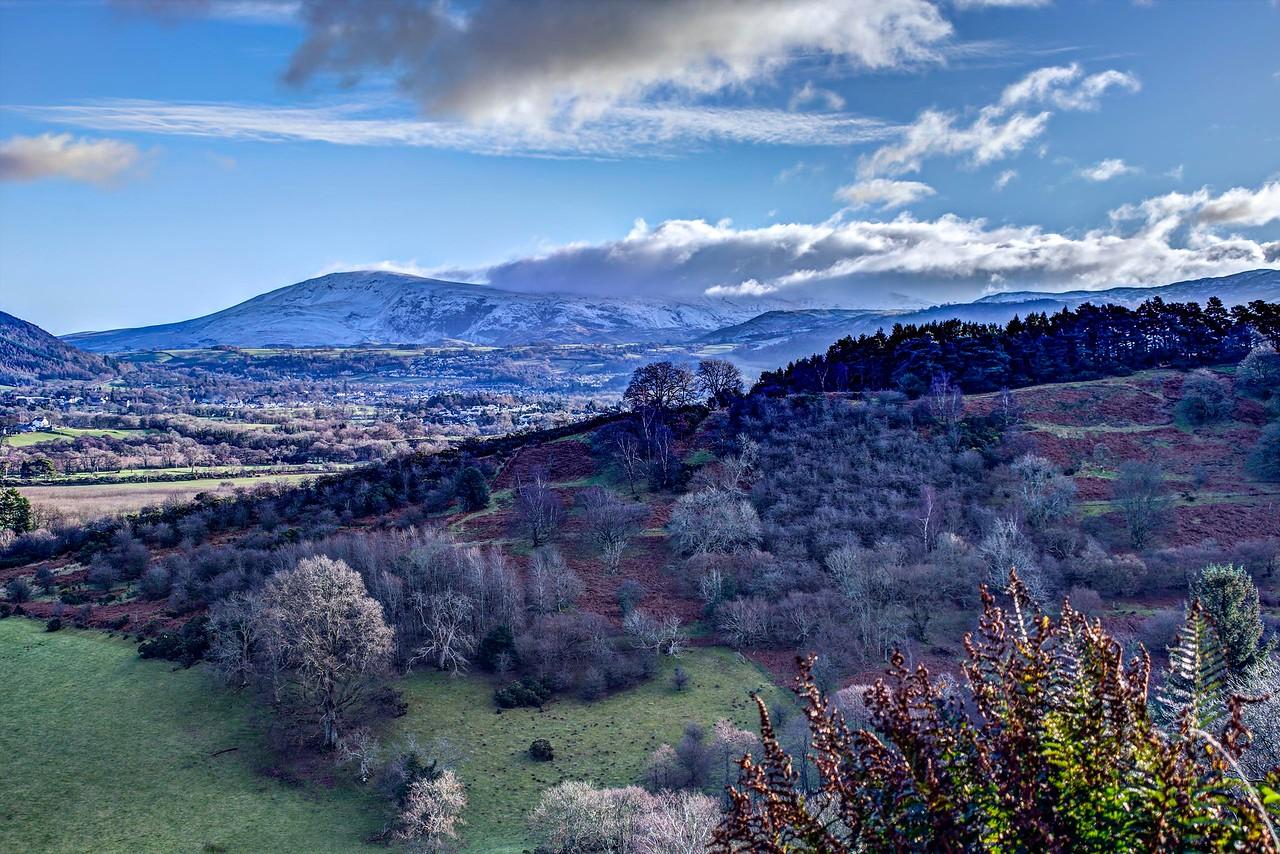 Sat 14th Jan : Clough Head & Clouds On Dodds