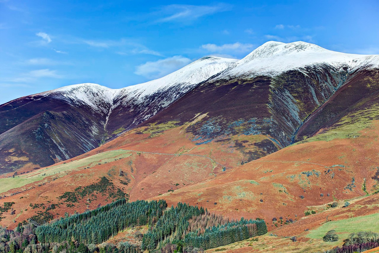 Mon 30th Jan : Latrigg : Carl Side, Middle Top and Little & Lesser Man