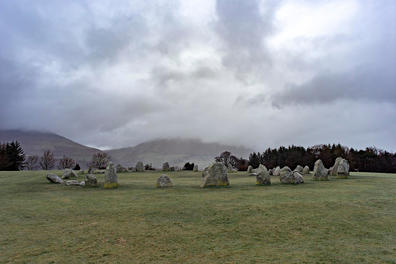 Fri 10th Mar : Castlerigg Stone Circle : Blencathra Under Cloud