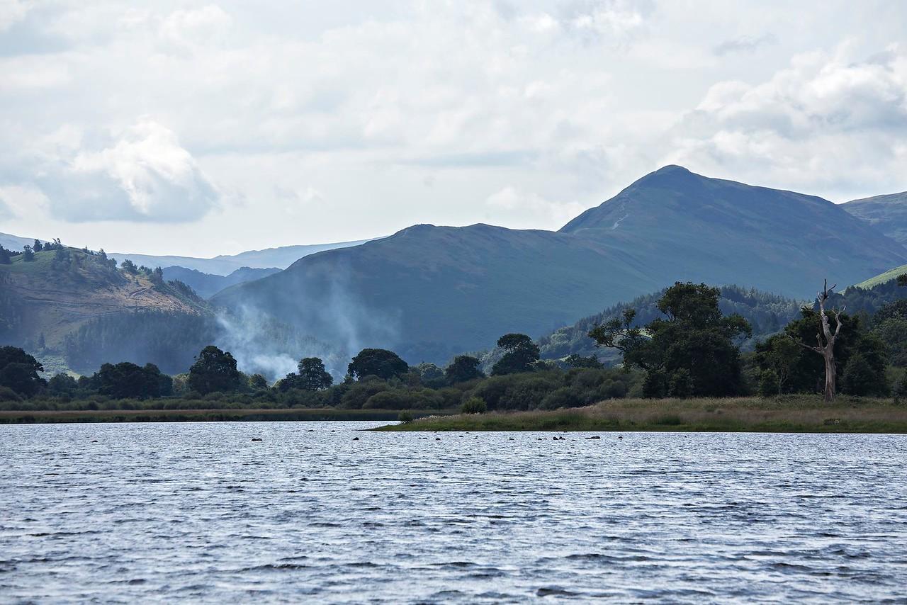 Thu 13th Jul : Bassenthwaite Lake : Cat Bells : Smoke Rising