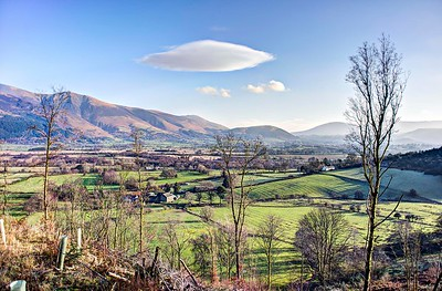 27th Jan : Lenticular Cloud