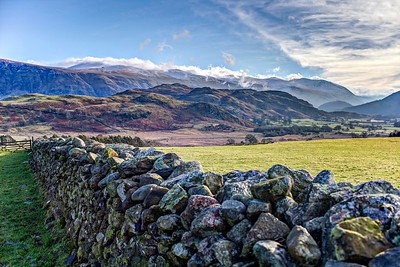 Mon 30th Jan : Castlerigg Stone Circle : High Rigg, The Dodds & Helvellyn
