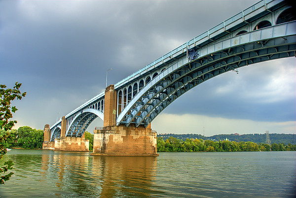 Pittsburgh;Lawrenceville;Pennsylvania;40th St. Bridge;Allegheny River;HDR;