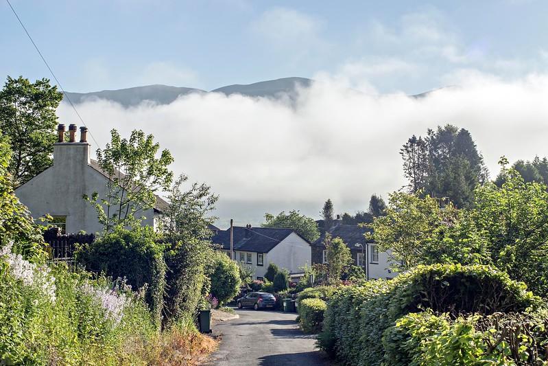 Thu 25th May : Thornthwaite : Cloud Hiding Skiddaw
