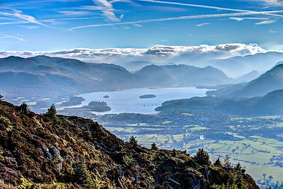 Sat 21st Jan : Dodd Summit : Derwent Water