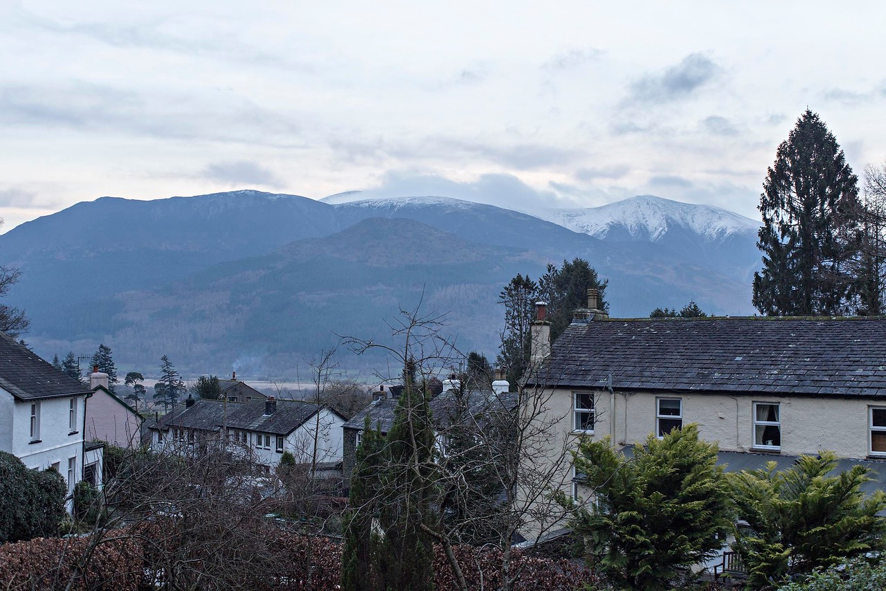 Mon 30th Jan : Skiddaw from the house @ 16:41
