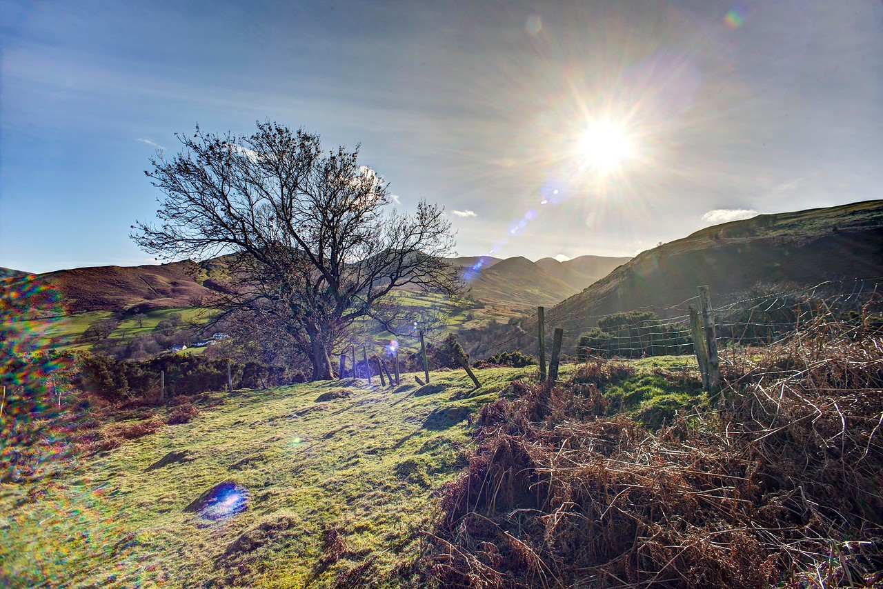 Thu 9th Mar : Braithwaite How : Looking Up Coledale