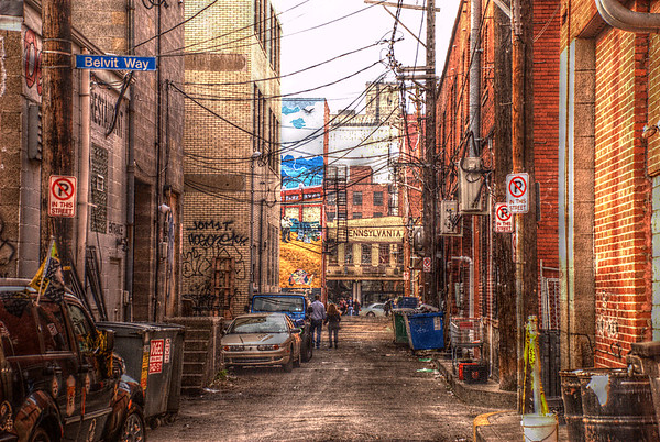 Strip District Back Alley