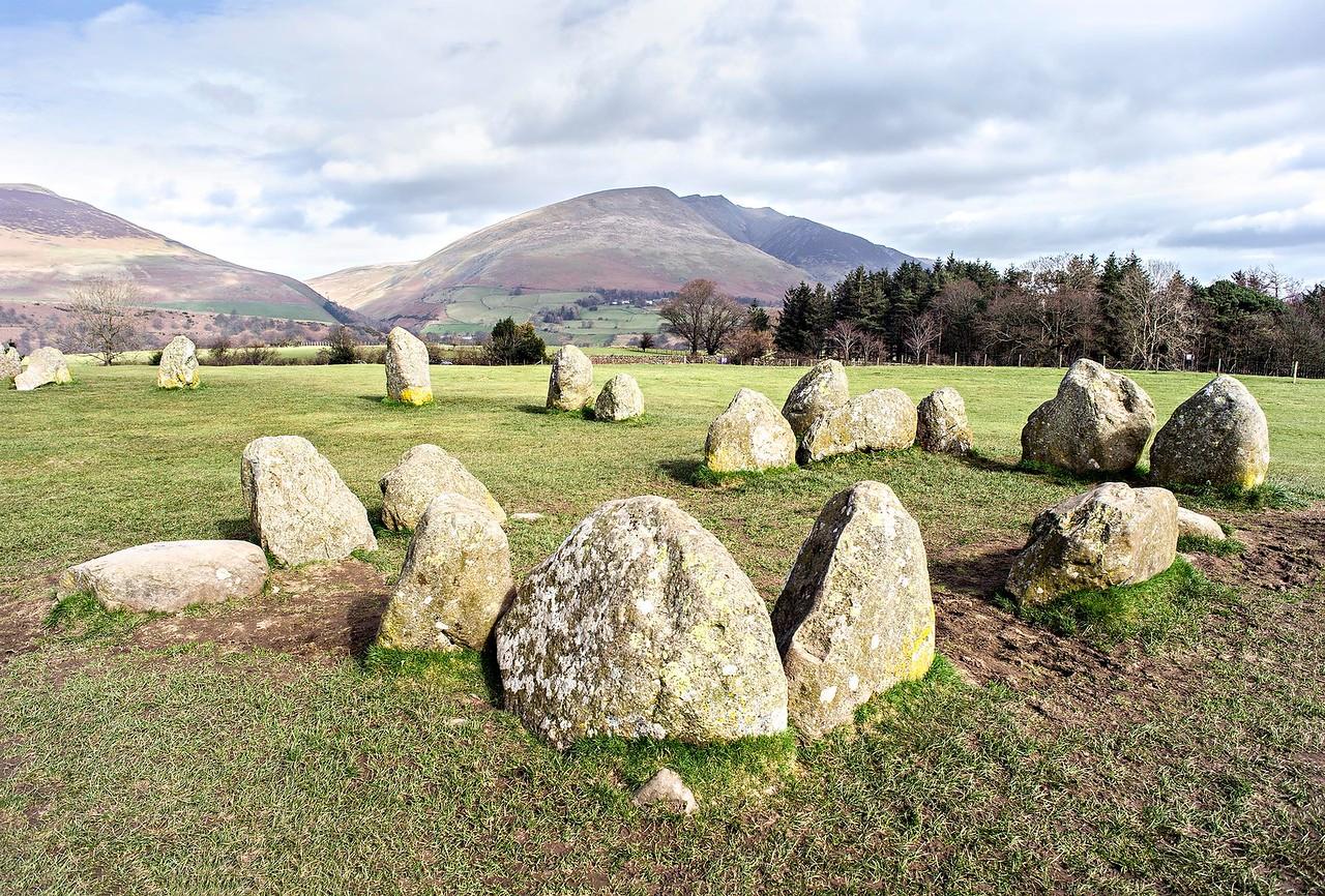 Wed 15th Mar : Castlerigg Stone Circle : The Inner Sanctum : Blencathra