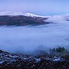 Sat 16th Dec 16:02 : Thwaitehill Knotts :  Temperature Inversion & Skiddaw