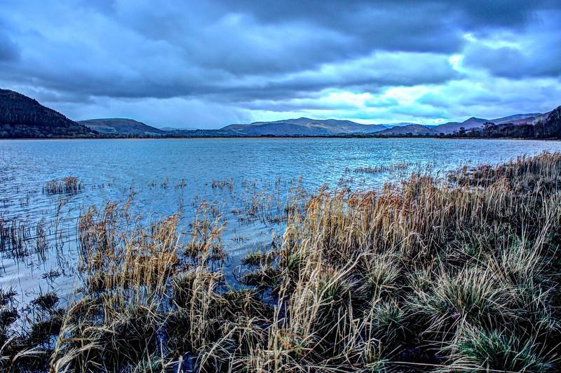 Wed 13th Dec : Bassenthwaite Lake : Rain On The Eastern Fells