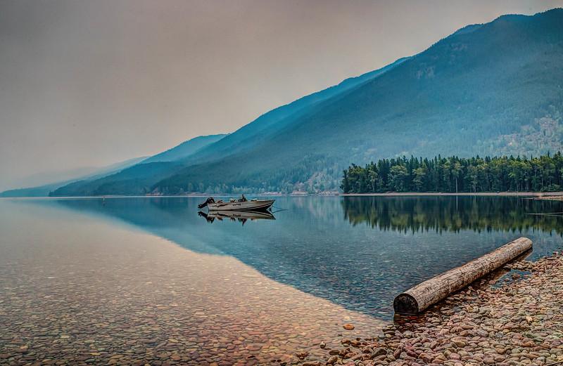 Dawn on Lake McDonald