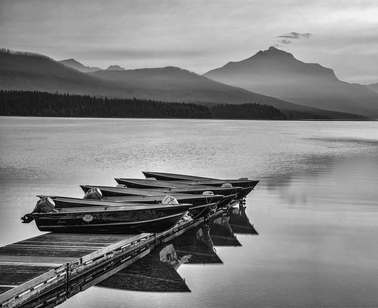Lake McDonald early morning