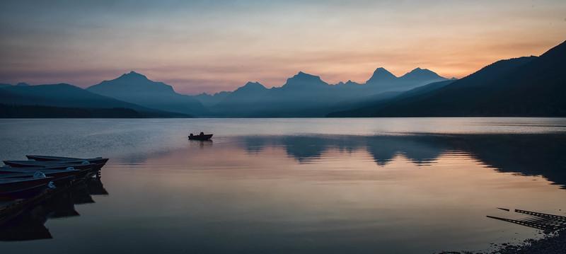 Lake McDonald sunrise