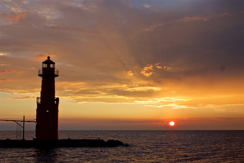 Sunrise Algoma WI.